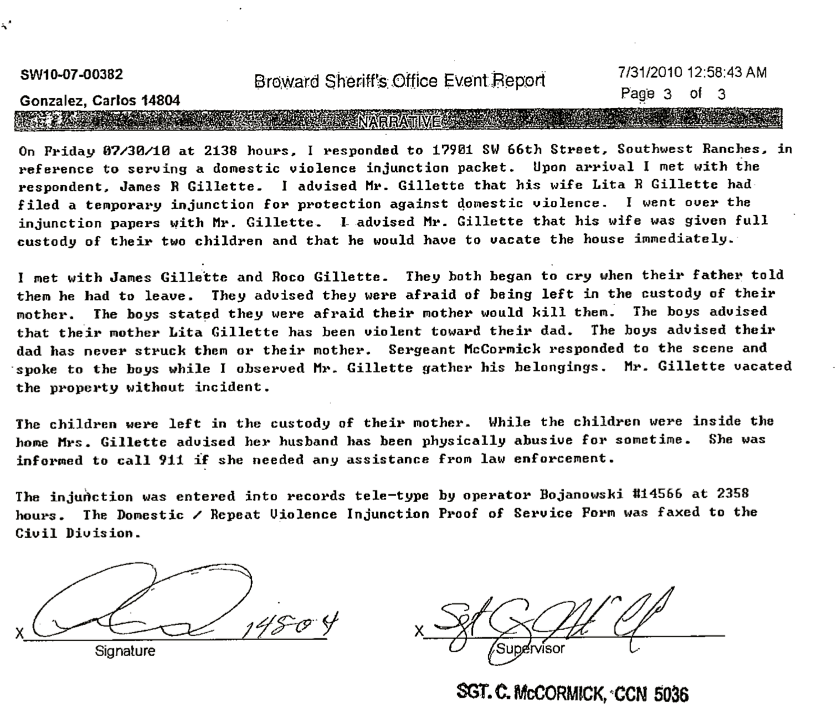0_LF_Sheriff's Office Report