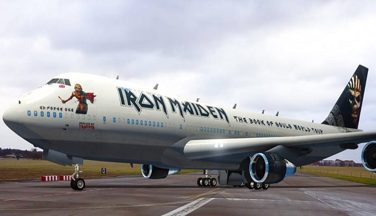 FLY WITH YOUR BOOTS ON … Take a virtual walk around Iron Maiden's