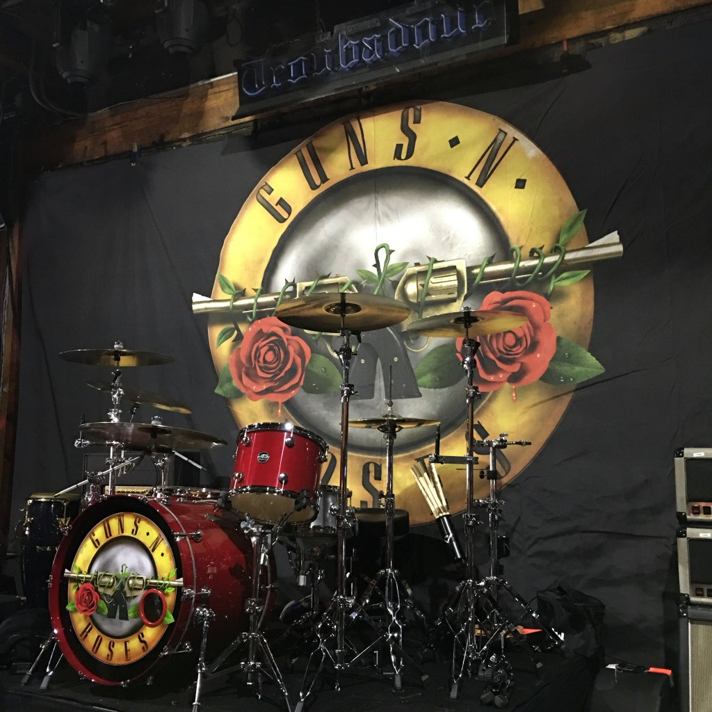 guns n� roses tweets �not in this lifetime� with drum kit