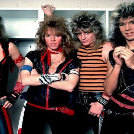 Dokken on 1/29/85 in Chicago,Il.   (Photo by Paul Natkin/WireImage) *** Local Caption ***
