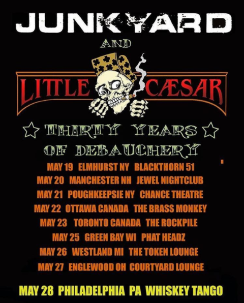 Junkyard Little Caesar Tour
