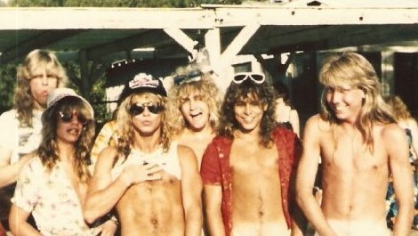 Billy D'Vette and Paul Lancia with Bret Michaels