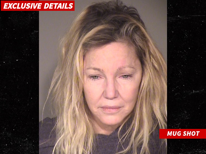 Heather Locklear Hospitalized in Possible Overdose Hours After Leaving Jail