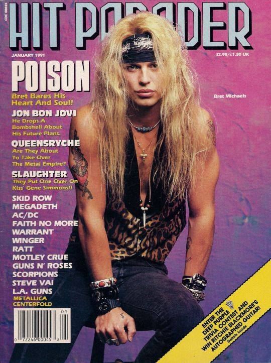 Bret_Michaels_Hit_Parader_1991_cover_Tuff_Diaries_Aug_2019_1