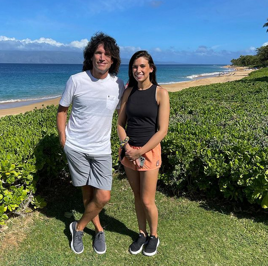 NO GLOVE … Kiss guitarist Tommy Thayer discovered he had an adult daughter via 23andMe DNA testing