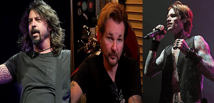 ALL VACCINATED BUT … Members of Buckcherry, Foo Fighters and Poison's Rikki Rockett are Vaccinated but have Now Tested Positive for COVID-19